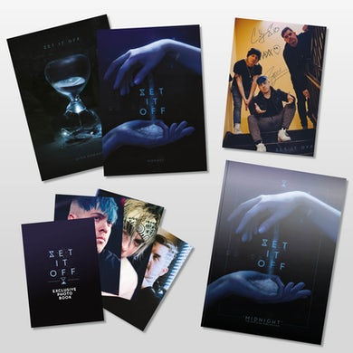 Set It Off Midnight Table Book (Collectors Edition) *LIMITED EDITION*