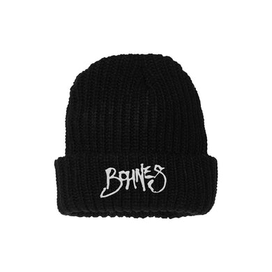 """Bohnes """"Logo"""" Knit Beanie"""