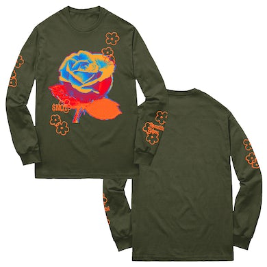 $Not Floral Havoc Green Long Sleeve
