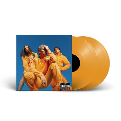 Waterparks - 'Greatest Hits' Orange Variant LP Vinyl (Pre-order)