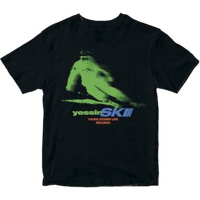 YessirSkiii Black T-Shirt