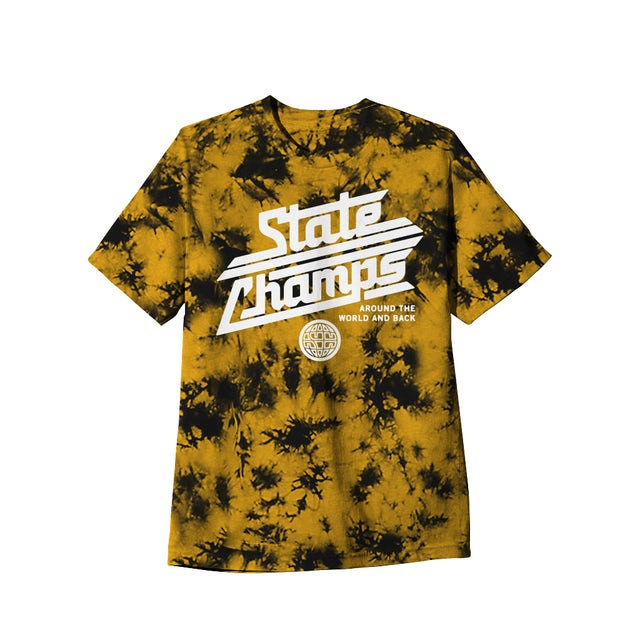 State Champs SC - Around The World Custom Gold Dyed Tee