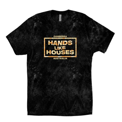 Hands Like Houses HLH - Crosshatch Dyed Tee