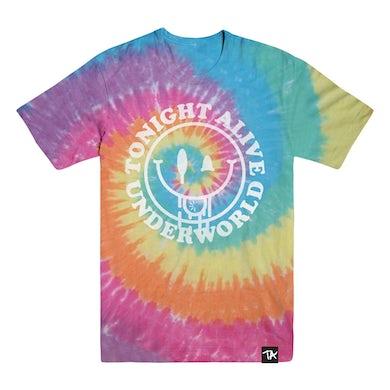 Tonight Alive TA - Underworld Rainbow Dyed Tee