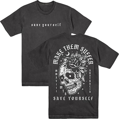Make Them Suffer MTS - Save Yourself Vintage Tee
