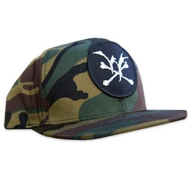 Winds Of Plague WOP - Camo Snapback Hat