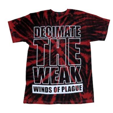 Winds Of Plague WOP - Custom Decimate Tee