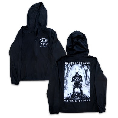 Winds Of Plague WOP - Decade of Decimation Windbreaker