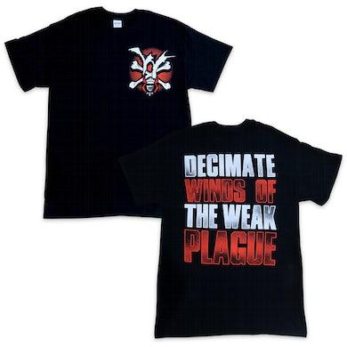Winds Of Plague WOP - Decimate Tee