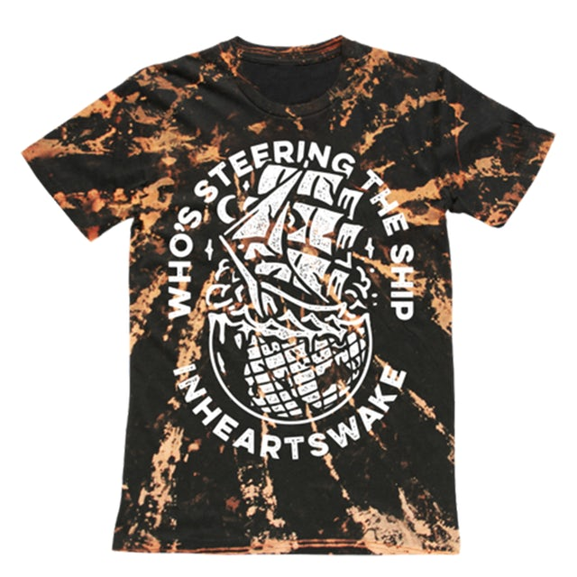 In Hearts Wake IHW - Who's Steering the Ship Tee