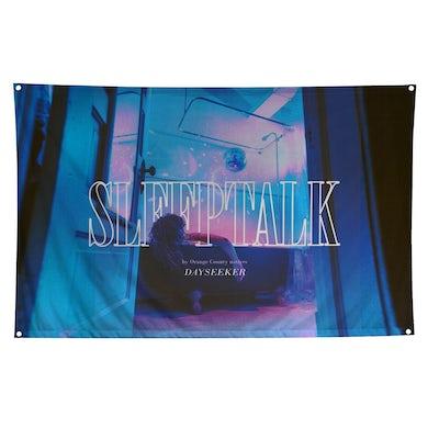 Dayseeker Sleeptalk Wall Flag