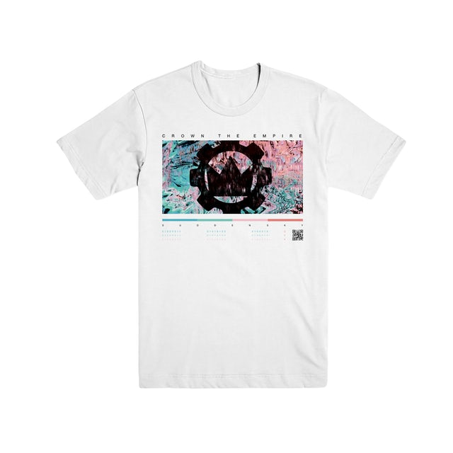 Crown The Empire CTE - Color Bars Tee