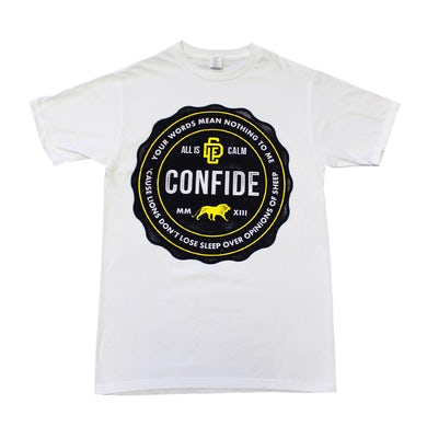 Confide Your Words Means Nothing Tee