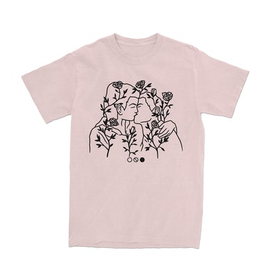 Too Close To Touch TCTT - Kissing Rose Tee