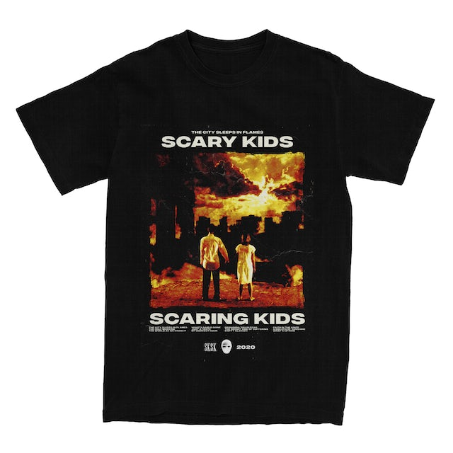 Scary Kids Scaring Kids SKSK - TCSIF ALBUM COVER TEE