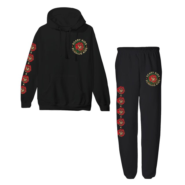 Scary Kids Scaring Kids SKSK - TCSIF TRADITIONAL HOODIE & JOGGER BUNDLE