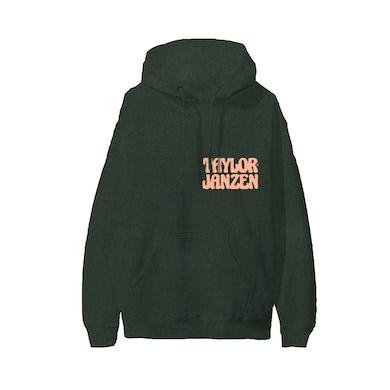 Taylor Janzen - Forest Green Puff Ink Hoodie