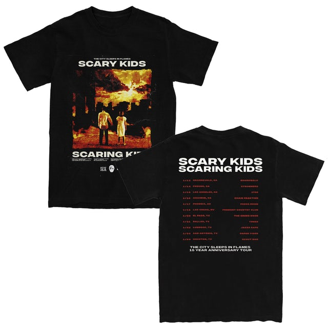 Scary Kids Scaring Kids SKSK - TCSIF Tour Tee