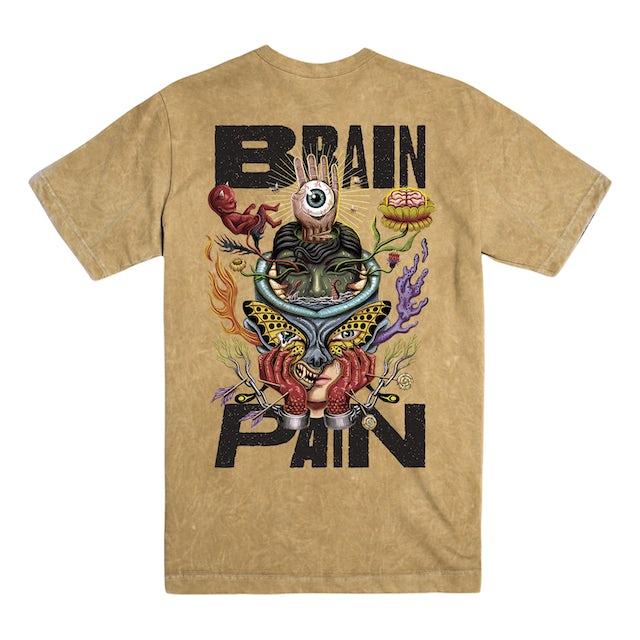 Four Year Strong FYS - Brain Pain Acid Wash Tee