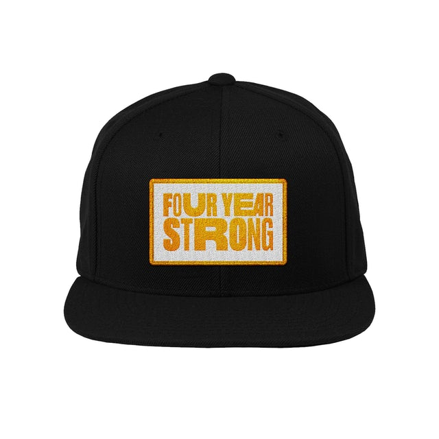 Four Year Strong FYS - Patch Snapback Hat