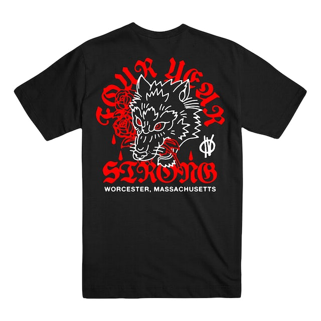 Four Year Strong FYS - Worcester Wolf Tee
