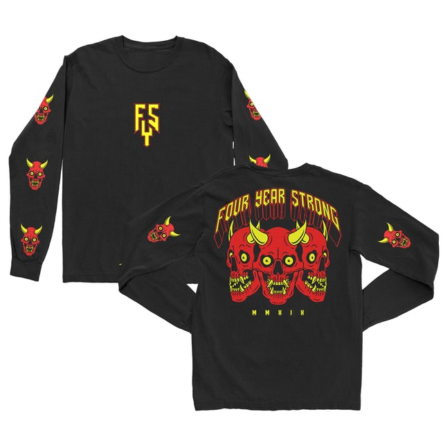 Four Year Strong FYS - Devil Skull Long Sleeve