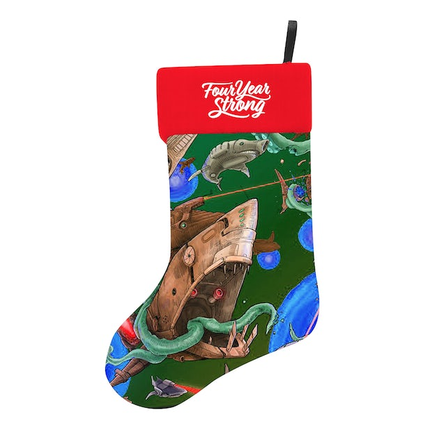 Four Year Strong FYS - Shark Christmas Stocking