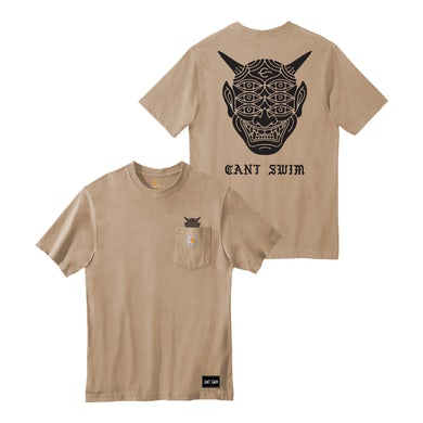 Can't Swim - Carhartt Oni Tan Tee