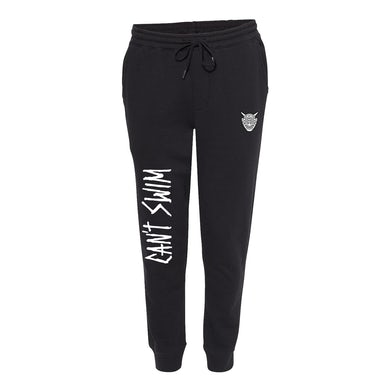 Can't Swim - Oni Joggers Black