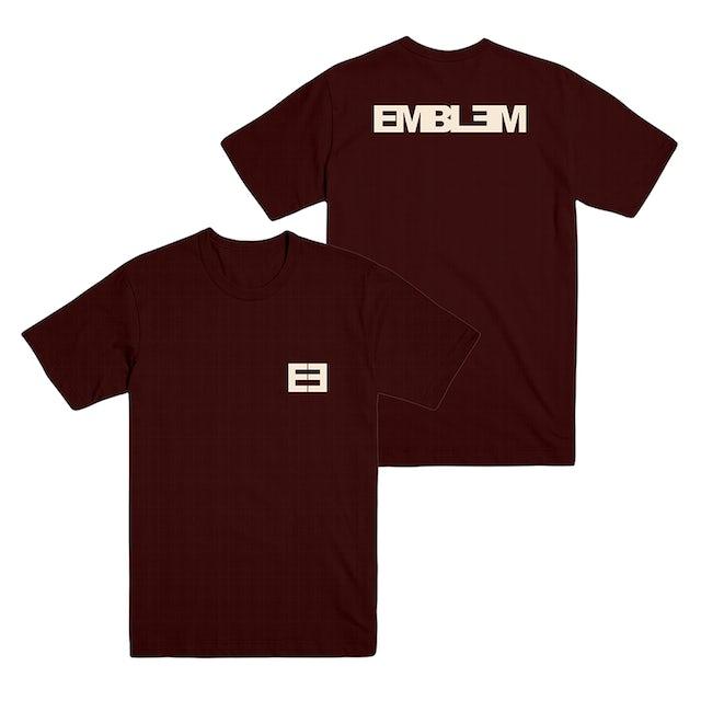 Emblem3 - Emblem Maroon Tee