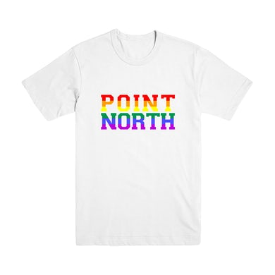 Point North - Pride Celebration Tee - White