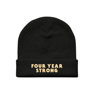Four Year Strong FYS Embroidered Beanie