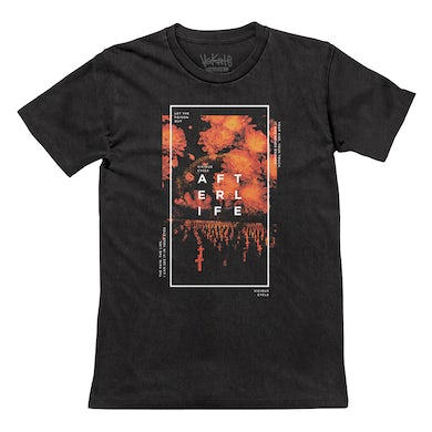Faded Black Floral Grave Tee