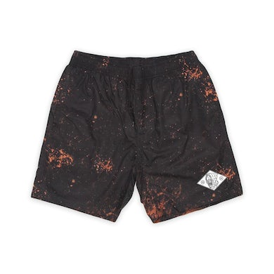 nothing,nowhere bleach shorts
