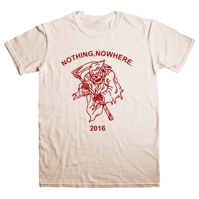 nothing,nowhere red reaper tee