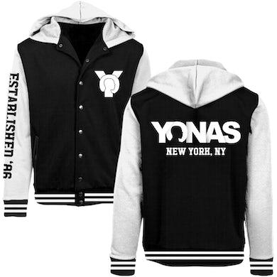 Black YONAS Varsity Jacket