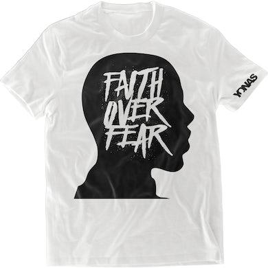Yonas Faith Over Fear T-shirt (White)