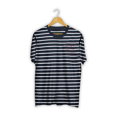 Silent Planet Striped Embroidered Tee
