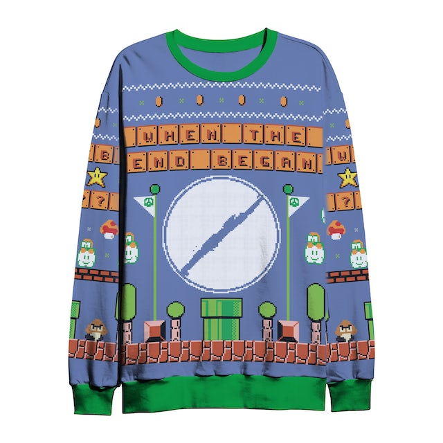 Silent Planet Mario Planet Holiday Sweater