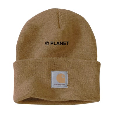 Silent Planet Embroidered Planet on Sand Carhartt Beanie