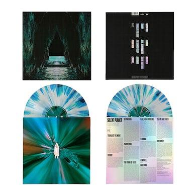 Silent Planet IRIDESCENT LP - WHITE W/ CYAN/GREEN SPLATTER (Vinyl)
