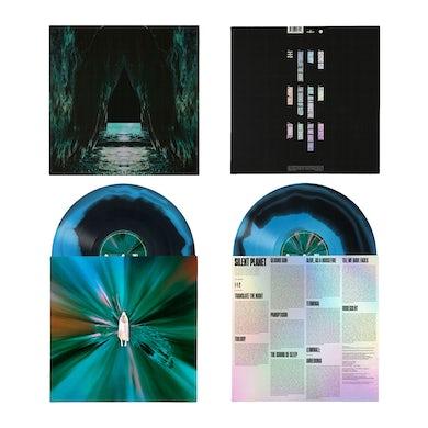Silent Planet IRIDESCENT LP - BLACK/CYAN (Vinyl)