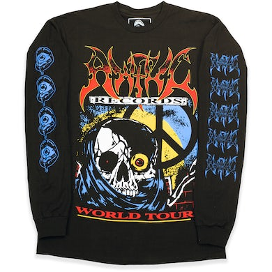 Awful Records Tour Tee Grim Reaper