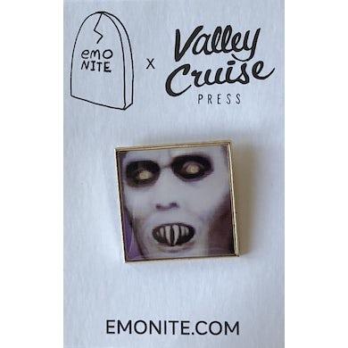 Emo Nite Pixelated Nosferatu Pin