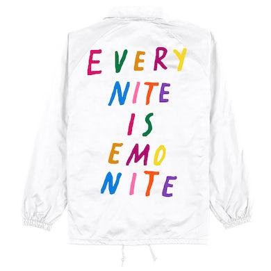 Emo Nite WHITE/COLORS ENIEN COACH TAYLOR JACKET