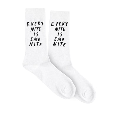 Emo Nite ENIEN White Socks