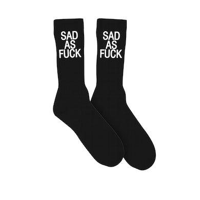 Emo Nite Sad As Fuck Socks