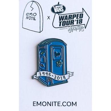Warped Tour x Emo Nite Porta Potty Pin