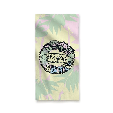 Yung Pinch Retro Beach Towel