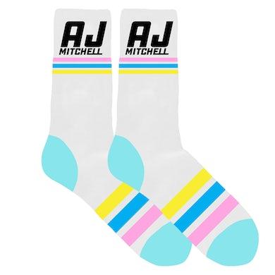AJ Mitchell Falling In Love Socks